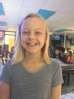 Delaney O. is Mrs. R. Watson's Good Citizen for the month of October