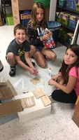 Kennedy Critters building bridges