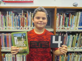 Luke F. has already met his Mark Twain Readers' Challenge!