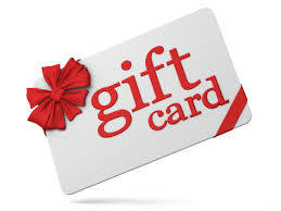 Shop with Gift Cards for Christmas!
