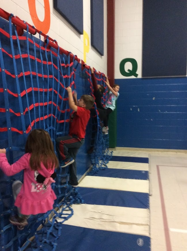 PHYSICAL EDUCATION CLIMBING