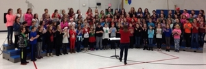 Intermediate Band and Choir Performance