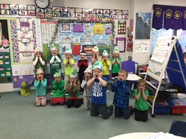 KINDERGARTEN GRINCH DAY
