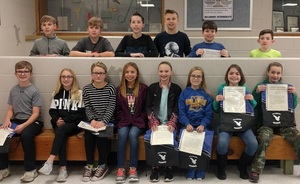Intermediate Students of the Month