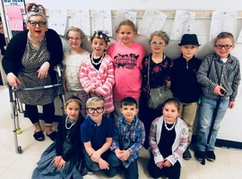 100TH DAY IN MS. REED'S CLASS