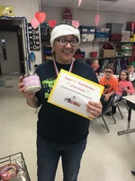 MRS. LUSTER IS STAR STAFF MEMBER OF THE WEEK
