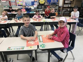 DR. SEUSS MESSY PUTTY AND GREEN EGGS AND HAM IN MRS. LOWERY'S CLASS
