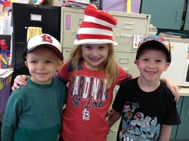 MRS. CHARLES' CLASS CELEBRATES DR. SEUSS' BIRTHDAY