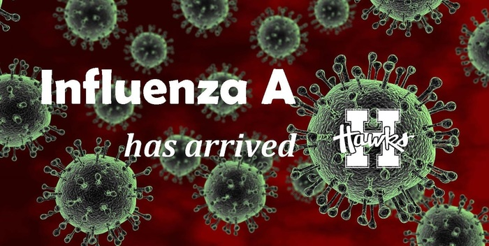 Influenza A has arrived