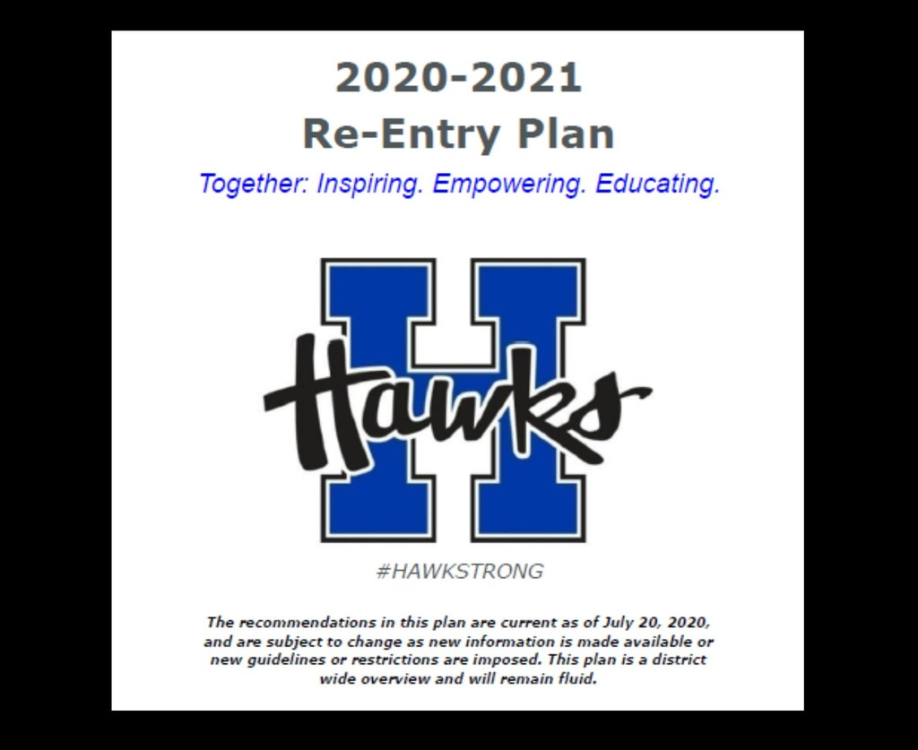 2020-2021 Re-Entry Plan
