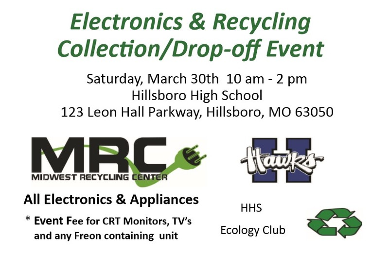 Electronics & Recycling Collection/Drop-off Event